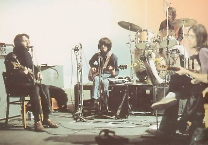 The Beatles at Twickenham Film Studios